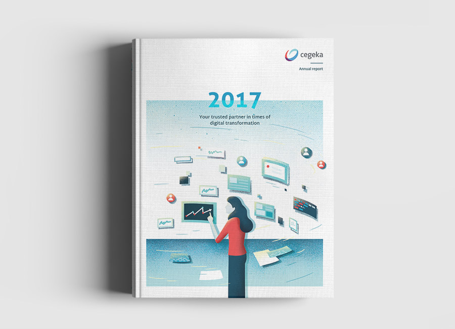Cegeka Annual Report 2017 Book